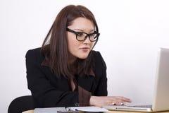 детеныши женщины офиса ath красивейшие Стоковые Фото