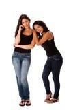детеныши женщины пар стоящие Стоковые Фотографии RF