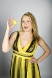 детеныши женщины пасхальныхя colourfull милые Стоковое Фото
