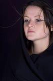 детеныши женщины портрета милые Стоковые Фото