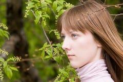 детеныши женщины портрета Стоковые Фото