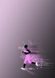 детеныши женщины предпосылки идущие Стоковая Фотография RF