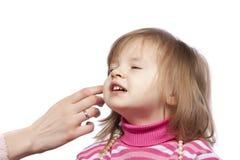детеныши женщины ребенка маленькие стоковое изображение rf