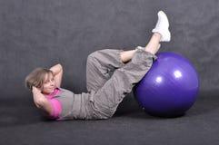 детеныши женщины спорта Стоковая Фотография RF