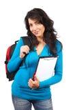 детеныши женщины студента стоковое изображение