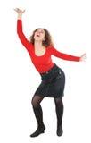 детеныши женщины танцы Стоковое Фото