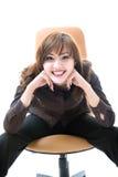 детеныши женщины усмешки японца Стоковые Фотографии RF