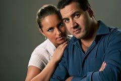 детеныши женщины человека пар Стоковое Изображение RF