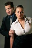 детеныши женщины человека пар Стоковые Изображения RF