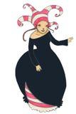 детеныши женщины costume смешные стоковые изображения