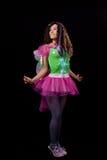 детеныши женщины costume fairy Стоковое Изображение