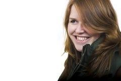 детеныши женщины smiley Стоковое фото RF