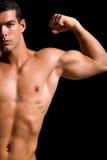 детеныши здорового человека мышечные стоковое изображение rf