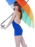 детеныши зонтика повелительницы цвета стоящие Стоковая Фотография RF