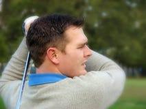 детеныши игрока в гольф Стоковая Фотография RF