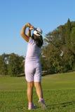 детеныши игрока гольфа Стоковое фото RF
