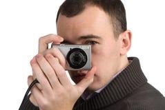 детеныши изображения человека говоря Стоковые Изображения RF