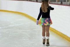 детеныши конькобежца Стоковая Фотография