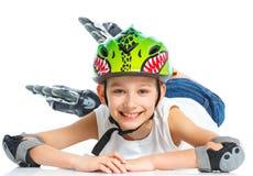 детеныши конькобежца Стоковое Изображение