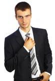 детеныши костюма человека предпосылки белые стоковое изображение