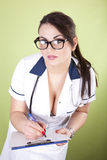 детеныши красивейшего доктора женские Стоковые Изображения RF