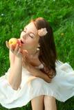 детеныши красивейшей повелительницы яблока sappy Стоковое Фото