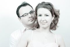 детеныши красивейших пар счастливые ся стоковое фото