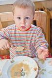 детеныши ложки ребёнка Стоковое фото RF