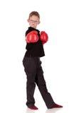 детеныши мальчика боксера Стоковое фото RF