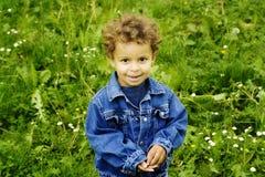 детеныши мальчика Стоковое Фото