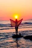 детеныши моря девушки Стоковые Фотографии RF