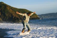 детеныши океана человека потехи Стоковая Фотография RF