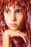 детеныши парика девушки масленицы Стоковое Изображение RF