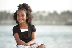 детеныши парка ребенка счастливые стоковые фотографии rf