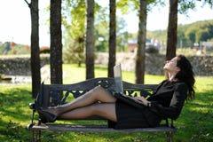 детеныши парка тетради повелительницы Стоковое Изображение RF