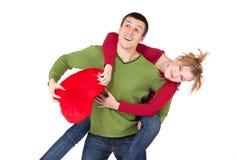 детеныши пар любя Стоковая Фотография RF