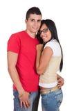 детеныши пар счастливые сь стоковая фотография