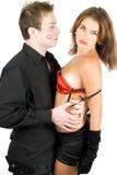детеныши пар flirting стоковые фото