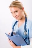 детеныши персоны нюни доктора женские медицинские Стоковые Фотографии RF