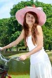 детеныши повелительницы велосипеда Стоковые Изображения RF
