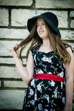 детеныши повелительницы черной шляпы Стоковое Фото
