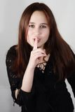 детеныши подростка портрета Стоковое Изображение