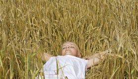 детеныши подростка сна девушки Стоковое Изображение