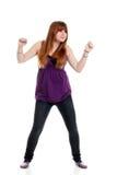 детеныши подростка танцы стоковое изображение