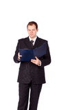 детеныши портрета бизнесмена сь Стоковое Фото