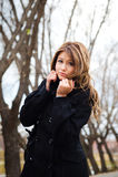 детеныши портрета девушки осени Стоковое фото RF