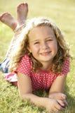 детеныши портрета девушки сельской местности Стоковое Изображение