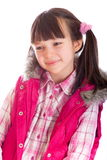 детеныши портрета девушки счастливые стоковое изображение