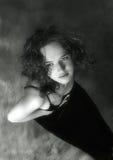 детеныши портрета девушки стоковая фотография