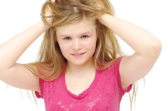 детеныши портрета девушки Стоковое фото RF
